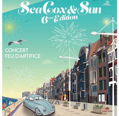 Création Graphique SeaCox&Sun Dunkerque Rouge Oxyde